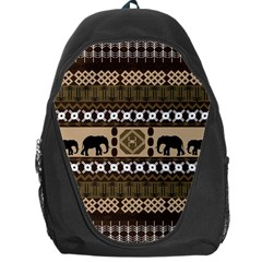 African Vector Patterns  Backpack Bag by Amaryn4rt
