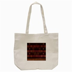 Ulos Suji Traditional Art Pattern Tote Bag (cream)