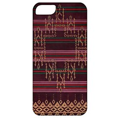 Ulos Suji Traditional Art Pattern Apple Iphone 5 Classic Hardshell Case