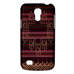 Ulos Suji Traditional Art Pattern Galaxy S4 Mini by Amaryn4rt