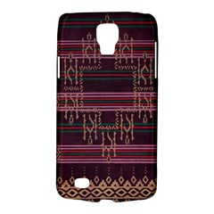 Ulos Suji Traditional Art Pattern Galaxy S4 Active by Amaryn4rt