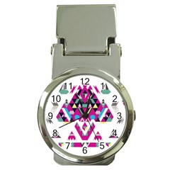 Geometric Play Money Clip Watches by Amaryn4rt