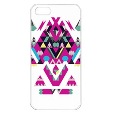 Geometric Play Apple Iphone 5 Seamless Case (white)