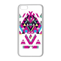 Geometric Play Apple Iphone 5c Seamless Case (white) by Amaryn4rt
