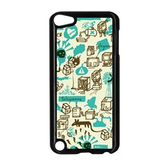 Telegramme Apple Ipod Touch 5 Case (black) by Amaryn4rt