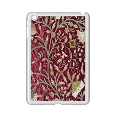 Crewel Fabric Tree Of Life Maroon Ipad Mini 2 Enamel Coated Cases by Amaryn4rt