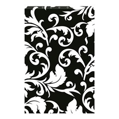 Vector Classical Traditional Black And White Floral Patterns Shower Curtain 48  X 72  (small)  by Amaryn4rt