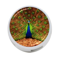 3d Peacock Bird 4 Port Usb Hub (two Sides)  by Amaryn4rt