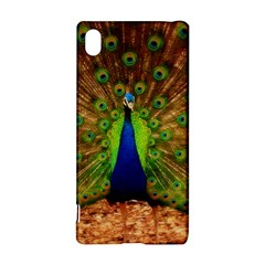 3d Peacock Bird Sony Xperia Z3+ by Amaryn4rt