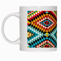 African Tribal Patterns White Mugs
