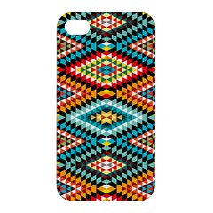 African Tribal Patterns Apple Iphone 4/4s Hardshell Case by Amaryn4rt