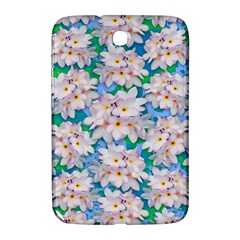 Plumeria Bouquet Exotic Summer Pattern  Samsung Galaxy Note 8 0 N5100 Hardshell Case  by BluedarkArt