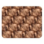 Snuggly Brown Fur Double Sided Flano Blanket (Large) 80 x60  Blanket Front