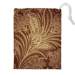Beautiful Patterns Vector Drawstring Pouches (xxl) by Amaryn4rt