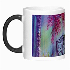 Bench In Spring Forest Morph Mugs