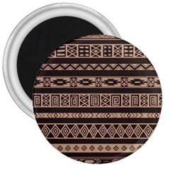 Ethnic Pattern Vector 3  Magnets
