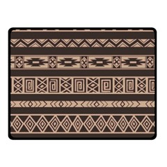 Ethnic Pattern Vector Fleece Blanket (small) by Amaryn4rt