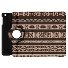 Ethnic Pattern Vector Apple Ipad Mini Flip 360 Case by Amaryn4rt