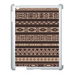 Ethnic Pattern Vector Apple Ipad 3/4 Case (white) by Amaryn4rt