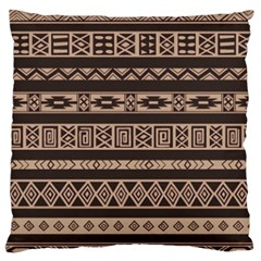 Ethnic Pattern Vector Standard Flano Cushion Case (one Side) by Amaryn4rt