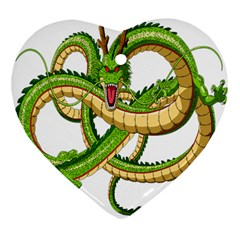 Dragon Snake Heart Ornament (two Sides)