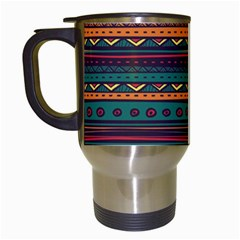Ethnic Style Tribal Patterns Graphics Vector Travel Mugs (white) by Amaryn4rt