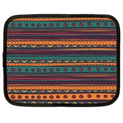 Ethnic Style Tribal Patterns Graphics Vector Netbook Case (xxl)  by Amaryn4rt