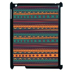 Ethnic Style Tribal Patterns Graphics Vector Apple Ipad 2 Case (black) by Amaryn4rt