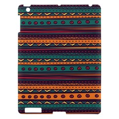 Ethnic Style Tribal Patterns Graphics Vector Apple Ipad 3/4 Hardshell Case by Amaryn4rt