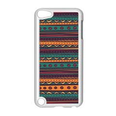 Ethnic Style Tribal Patterns Graphics Vector Apple Ipod Touch 5 Case (white) by Amaryn4rt