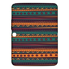 Ethnic Style Tribal Patterns Graphics Vector Samsung Galaxy Tab 3 (10 1 ) P5200 Hardshell Case