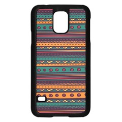 Ethnic Style Tribal Patterns Graphics Vector Samsung Galaxy S5 Case (black) by Amaryn4rt