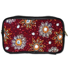 India Traditional Fabric Toiletries Bags 2 Side by Amaryn4rt
