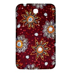 India Traditional Fabric Samsung Galaxy Tab 3 (7 ) P3200 Hardshell Case  by Amaryn4rt