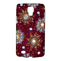 India Traditional Fabric Galaxy S4 Active by Amaryn4rt