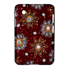 India Traditional Fabric Samsung Galaxy Tab 2 (7 ) P3100 Hardshell Case  by Amaryn4rt