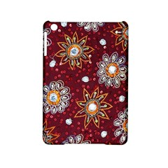 India Traditional Fabric Ipad Mini 2 Hardshell Cases by Amaryn4rt