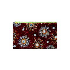 India Traditional Fabric Cosmetic Bag (xs)