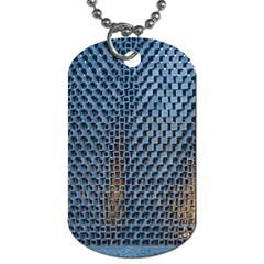 Parametric Wall Pattern Dog Tag (two Sides) by Amaryn4rt