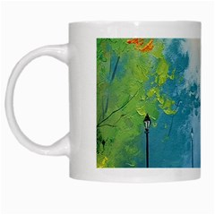 Park Nature Painting White Mugs by Amaryn4rt