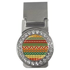 Mexican Folk Art Patterns Money Clips (cz)