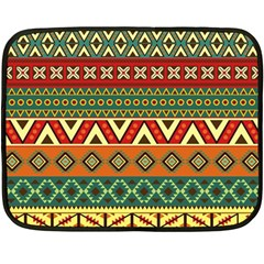Mexican Folk Art Patterns Fleece Blanket (mini) by Amaryn4rt