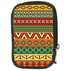 Mexican Folk Art Patterns Compact Camera Cases by Amaryn4rt