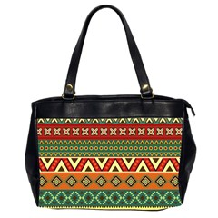Mexican Folk Art Patterns Office Handbags (2 Sides)  by Amaryn4rt