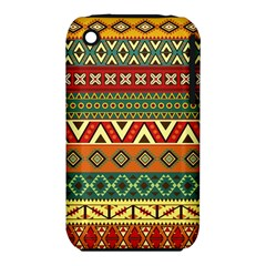 Mexican Folk Art Patterns Iphone 3s/3gs by Amaryn4rt