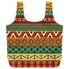 Mexican Folk Art Patterns Full Print Recycle Bags (l)