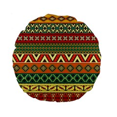 Mexican Folk Art Patterns Standard 15  Premium Flano Round Cushions by Amaryn4rt