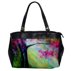 Forests Stunning Glimmer Paintings Sunlight Blooms Plants Love Seasons Traditional Art Flowers Sunsh Office Handbags by Amaryn4rt