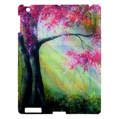 Forests Stunning Glimmer Paintings Sunlight Blooms Plants Love Seasons Traditional Art Flowers Sunsh Apple Ipad 3/4 Hardshell Case by Amaryn4rt