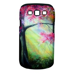 Forests Stunning Glimmer Paintings Sunlight Blooms Plants Love Seasons Traditional Art Flowers Sunsh Samsung Galaxy S Iii Classic Hardshell Case (pc+silicone) by Amaryn4rt